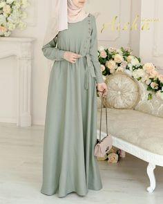 Muslim Fashion, Hijab Fashion, Fashion Dresses, Mode Chic, Mode Style, Modele Hijab, Hijab Style, Bridesmaid Dresses, Wedding Dresses