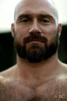 Tony! Hairy, bald, muscle bear... and really good guy.