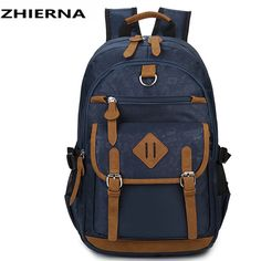 9f6b79e4fa 2017 hot new Oxford school bags for teenagers boys girls Laptop Mochila  schoolbags High Capacity Men