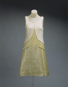 Dress, Evening  André Courrèges  (French, born 1923)  Date: 1965 Culture: French Medium: cotton
