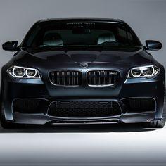 Vorsteiner VRS Aero Front Add On Spoiler Carbon Fiber fits BMW F10 M5 #Vorsteiner #aero #spoiler #carbonfiber #bmw #m5 #vibemotorsports