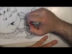 speed drawing mrs bric e chicco - YouTube