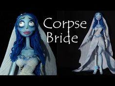 Corpse Bride Inspired (Poseable) Doll - Polymer Clay Tutorial - YouTube