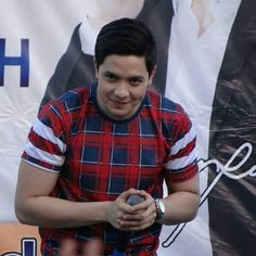 Richard Faulkerson Jr.  Alden Richards -xlodv Alden Richards, Jr, Button Down Shirt, Men Casual, Mens Tops, Dress Shirt