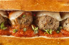 Sam's Meatball Sandwich Pressed Subs
