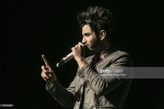 Singer Gustavo Lima performs during a show at Credicard Hall on March 28, 2013 in Sao Paulo, Brazil.
