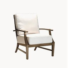 Croquet Aluminum Lounge Chair with Cushions by Summer Classics