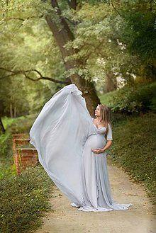 Tehotenské oblečenie - Šaty na fotenie - 8569044_