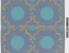 Unused Wallpaper Sample | Justema, William (Designer) | 2008.6.73 -- Historic New England