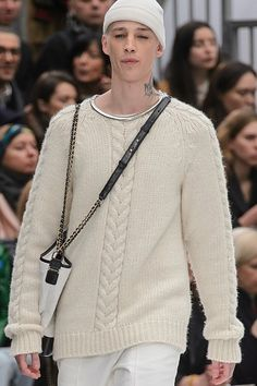 >> A mix of well-known and lesser-known designers ◇ haute couture ◇ fashion week and outlandish fashion in different colors ☼ Amarillis, World Of Fashion, Paris Fashion, Chanel Paris, Haute Couture Fashion, Men Sweater, Model, Sweaters, Color