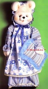Чулочная скульптурная кукла от MerlettKA (из интернета) / Мир игрушки / Разнообразные игрушки ручной работы