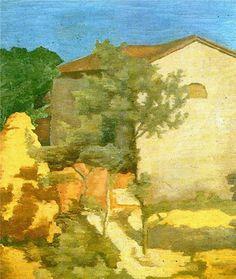 Giorgio Morandi  Landscape 1928