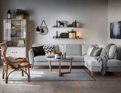 Bridge Danish Living Room, Mid Century Modern Living Room, Tv Storage, Living Room Decor, Living Room Grey, Living Room Modern, Couch Furniture, Living Room Furniture, Furniture Design