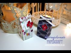 3x6 Series: 1 Inch Milk Carton | Stampin' Up (UK) with Persephone's Papercraft - YouTube