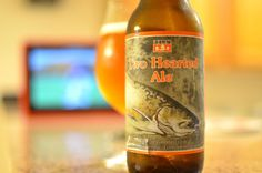 Bells Brewery Two Hearted Ale, 12 oz., 7% ABV. Peyton Manning promised football on my phone, but Id prefer it on my wifes iPad. DAMN YOU, PEYTON! Also, holy crap is this a fantastic IPA.