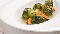 Receta de Brócoli y mejillones en salsa verde #brocoli #salsaverde #receta
