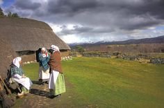 Highland Folk Museum, a Highland Township | by VisitScotland