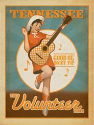 tennessee volunteer gal knoxville artist - Google Search