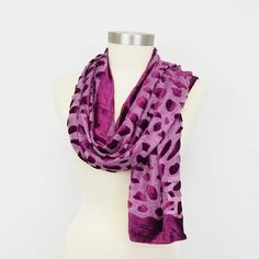Purchase Women Abstract Design Velvet Burnout Oblong Winter Warm Scarf Fashion Stylish Gift Holidays Christmas Brown Green from Girl N' Glam on O Velvet Scarf, Bridesmaid Accessories, Purple Scarves, Purple Velvet, Leaf Prints, Scarf Styles, Womens Scarves, Bridesmaid Gifts, Gifts For Friends