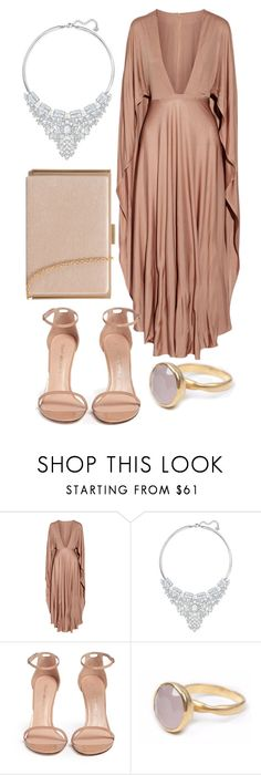 """gpekanc"" by be-the-1 ❤ liked on Polyvore featuring Valentino, Swarovski, Stuart Weitzman and Bohemia"