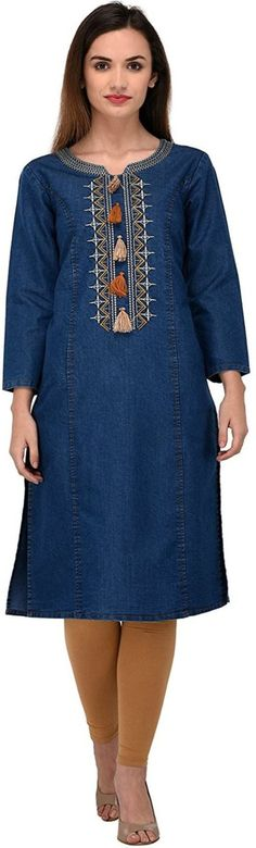 India's Best online Shopping Website For Women,Mens,kids and Many More Categories For Shopping . Denim Kurti, Casual, Dresses, Fashion, Vestidos, Moda, Fashion Styles, Dress, Fashion Illustrations