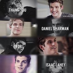 Yes, thank you SO much for creating such an entertaining, hilarious character in Teen Wolf next to Stiles! ♥️♥️♥️ he made the show that much more fun and entertaining to watch Teen Wolf Isaac, Stiles Teen Wolf, Teen Wolf Boys, Teen Wolf Dylan, Teen Wolf Cast, Teen Wolf Memes, Teen Wolf Quotes, Teen Wolf Funny, Lydia Martin