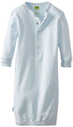 Kushies Unisexbaby Newborn Everyday Mocha Layette Gown, Blue Stripe, 3-6 Months Kushies,http://www.amazon.com/dp/B004UAAJ5W/ref=cm_sw_r_pi_dp_mCu4sb1P4ZFRZ6G3