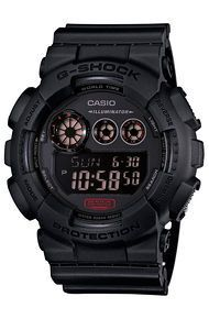 G-SHOCK  The GD-120 Military Watch in Black - watches, fashion, omega, fossil, fossil, casio watch *ad