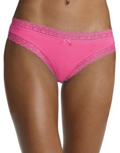 Hanes Women's Stretch Cotton Thong