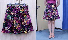 DIY high waist skirt