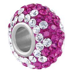 Fuchsia Tuxedo - Pandora Style Beads, Pandora Style Charms, Pandora Style Bracelets >>> Click image to review more details.