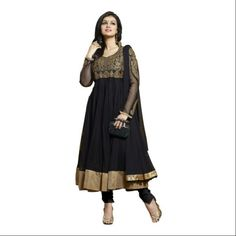 Buy Vraj Fashion Ayesha Black salvar suit by vraj fashion, on Paytm, Price: Rs.825