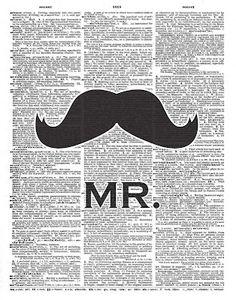 moustache voor Guust!