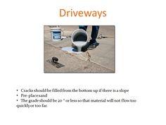 FlexSet for driveway repair