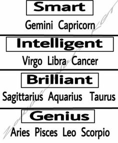 Why I am a genius... thanks for noticing!! #Scorpio