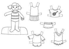 16 Ideas De Muñecas Recortables Colorear Muñecas Recortables Muñecas Colores
