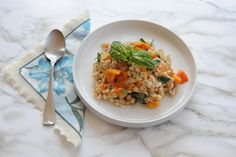Easy Risotto Recipe with Barley and Sweet Potatoes