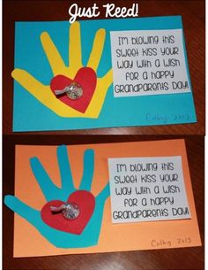 (And giveaway continues) grandparents day crafts, grandparent gifts, mothers Daycare Crafts, Classroom Crafts, Toddler Crafts, Preschool Crafts, Crafts For Kids, Kids Diy, Baby Crafts, Grandparents Day Activities, Happy Grandparents Day