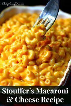 Stouffer S Macaroni Cheese Recipe Food Recipes Macaroni