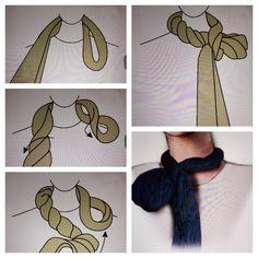 Manual de Campo del Aventurero Steampunk: Pañuelo de cuello Cravat o Ascot