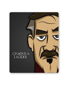 Chaos is a Ladder   Peter Baelish Game Of Thrones Mouse Pad