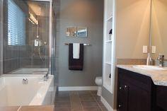 Pose d'un rideau de douche à domicile