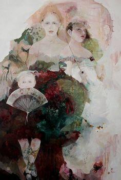 Artodyssey: Françoise de Felice, French artist, Impressionist, born 1952