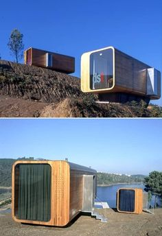 pods DST Aldeia do Mato – Entwurf Archive Container Buildings, Container Architecture, Architecture Design, Container House Design, Tiny House Design, Modular Homes, Prefab Homes, Casas Containers, Micro House