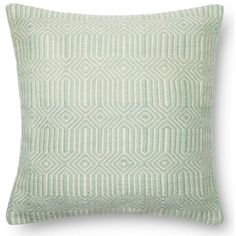 """Dillon Indoor/Outdoor Pillow 22"""" ❤ liked on Polyvore featuring home, outdoors and outdoor decor"""