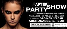 AFTER-SHOW-PARTY WITH   MARCEL OSTERTAG, SONJA KIEFER, TOM REBL AND FASHIONISTAS