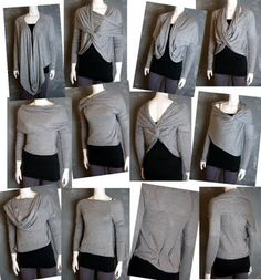 Convertible cardigans - I want!!