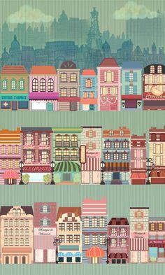 Most Popular Cities on Behance, paris ,france,illustration,sketch