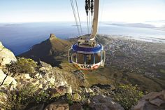 March 21 - Arrival, Table Mountain & Wine Tasting: Get your trip off to a spectacular start with a cable car ride up Table Mountain, to give you an overview of this stunning city. (Giving Back in South Africa - Join Mrs O Around the World) South Africa Holidays, Cape Town Holidays, Hope Images, Table Mountain, Africa Travel, Luxury Travel, Dream Vacations, Places To Travel, Beautiful Places