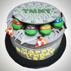 Happy Birthday Leo Part 1!! #deliciousarts #cakebydeliciousarts #customcakes #ninjaturtles #teenagemutantninjaturtles #tmnt #birthday #birthdaycake #leo #losangeles #westla #westpico #bakery